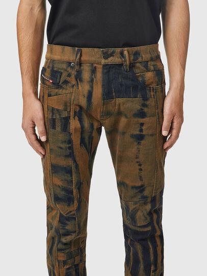 Diesel - D-Strukt 09B34, Nero/Marrone - Jeans - Image 3