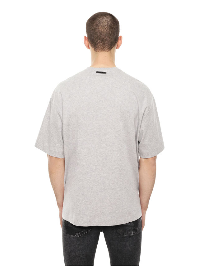 Diesel - TEORIA-MELTINGSOLDIE, Grigio - T-Shirts - Image 2