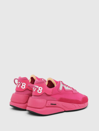Diesel - S-SERENDIPITY LC W, Rosa Fluo - Sneakers - Image 3
