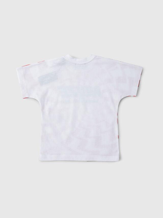 Diesel - TRUCCIB, Bianco/Rosso/Blu - T-shirts e Tops - Image 2