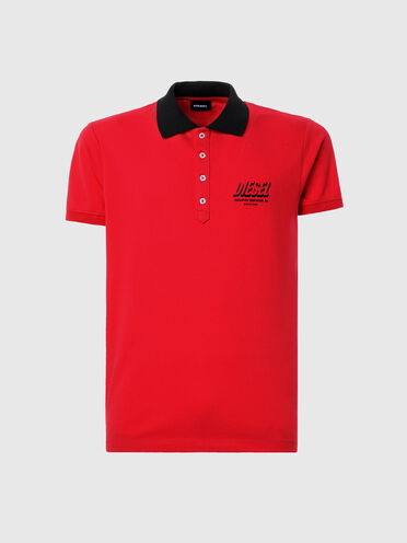 Polo con stampe Diesel Industry