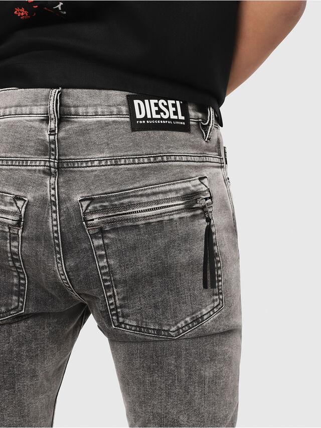 Diesel - D-Amny 069FJ, Nero/Grigio scuro - Jeans - Image 3