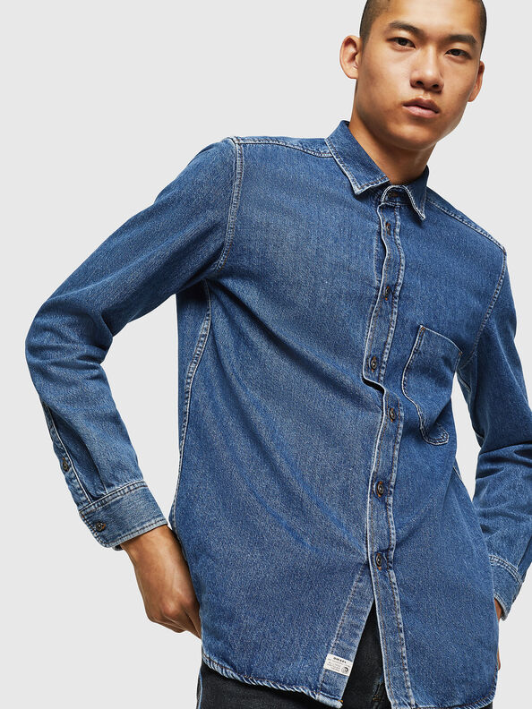 D-BER-P,  - Camicie in Denim