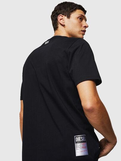 Diesel - T-JUST-B26, Nero - T-Shirts - Image 2