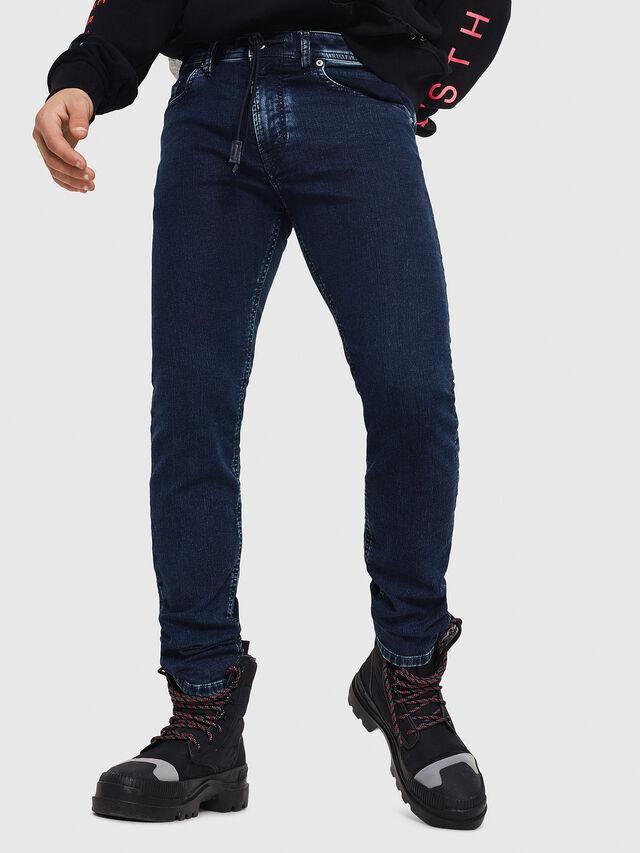 Diesel - Thommer JoggJeans 8880V, Blu Scuro - Jeans - Image 1