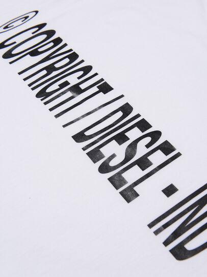 Diesel - TILCOPY, Bianco - T-shirts e Tops - Image 3