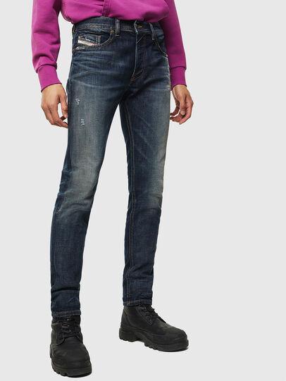 Diesel - Thommer 0096U, Blu Scuro - Jeans - Image 1