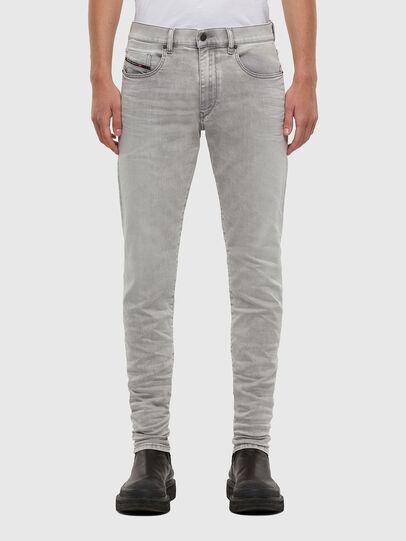 Diesel - D-Strukt 069RE, Grigio Chiaro - Jeans - Image 1