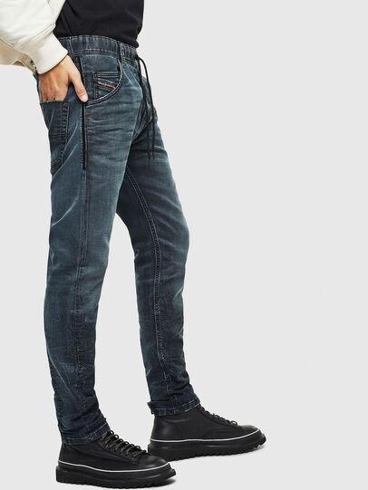 Diesel - Krooley JoggJeans 069MD, Blu Scuro - Jeans - Image 4