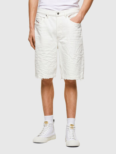 Diesel - D-MACS-SHORT, Bianco - Shorts - Image 1