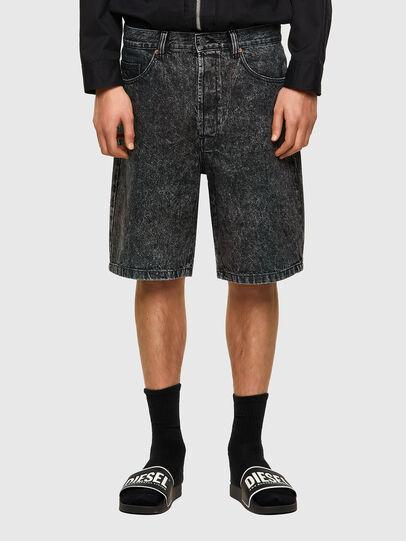 Diesel - D-MAXS-SP, Nero - Shorts - Image 1