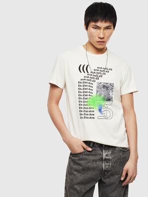 T-DIEGO-S11, Bianco - T-Shirts