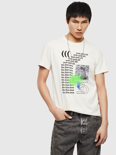 Diesel - T-DIEGO-S11, Bianco - T-Shirts - Image 4