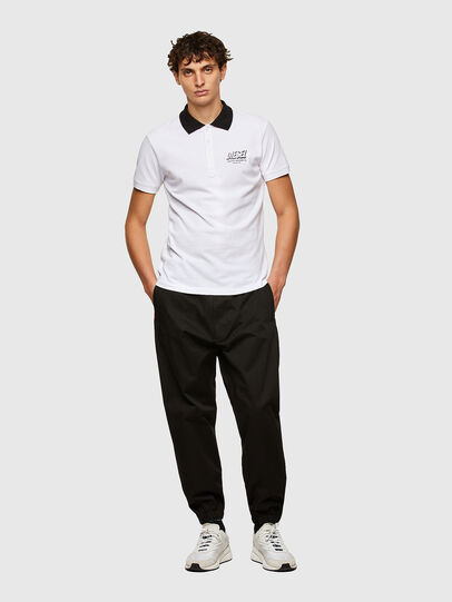 Diesel - T-RANDY-NEW-A1, Bianco - Polo - Image 4