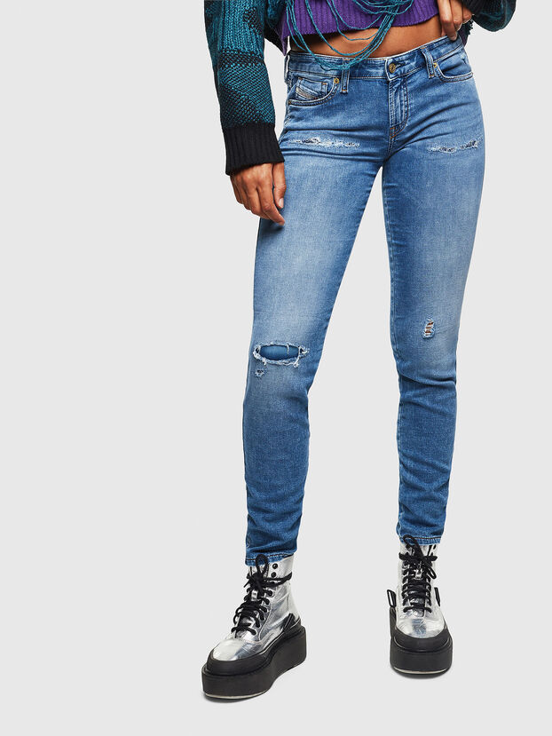 Gracey JoggJeans 069IH, Blu Chiaro - Jeans