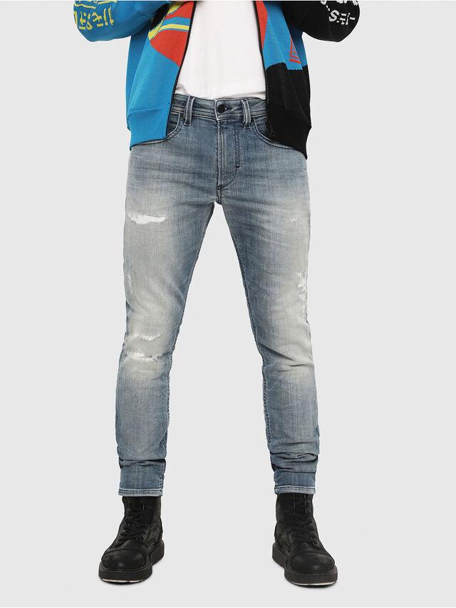 Diesel - Thommer JoggJeans 8880T, Blu Chiaro - Jeans - Image 1