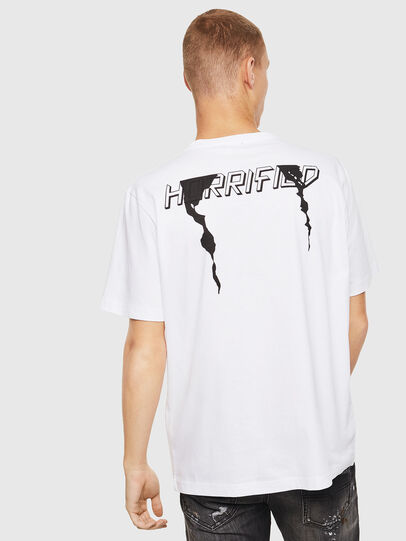 Diesel - T-JUST-J21, Bianco - T-Shirts - Image 2