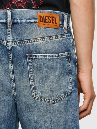 Diesel - D-STRUKT-SHORT, Blu Chiaro - Shorts - Image 3