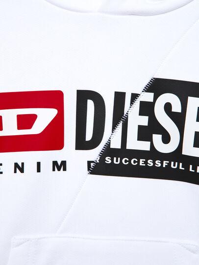 Diesel - SGIRKHOODCUTY OVER, Bianco - Felpe - Image 3