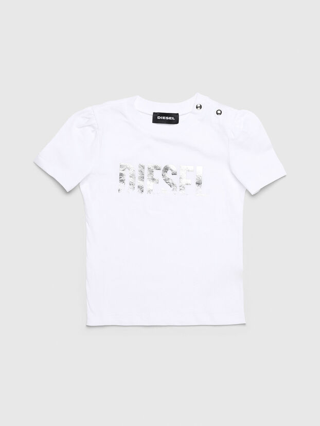 TRALLYB, Bianco - T-shirts e Tops