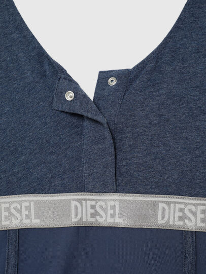 Diesel - UFTEE-TOPCUT-DN, Blu - T-Shirts - Image 4