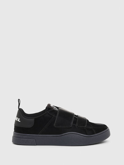 Diesel - S-CLEVER LOW STRAP W, Nero - Sneakers - Image 1