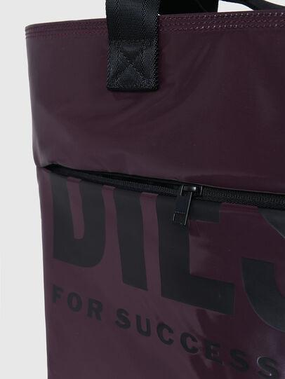Diesel - F-BOLD SHOPPER III, Viola Scuro - Shopper e Borse a Spalla - Image 5