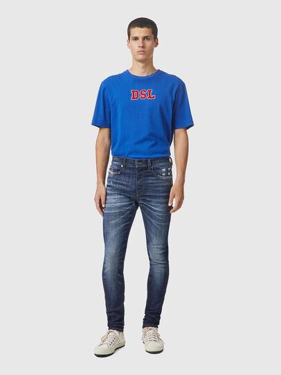 Diesel - D-Amny 09A85, Blu Scuro - Jeans - Image 5