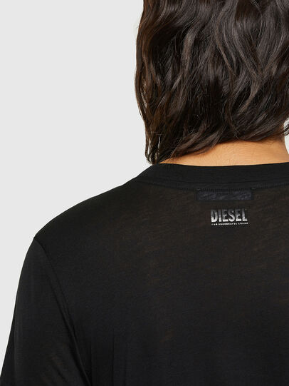 Diesel - T-SILY-V26, Nero - T-Shirts - Image 3