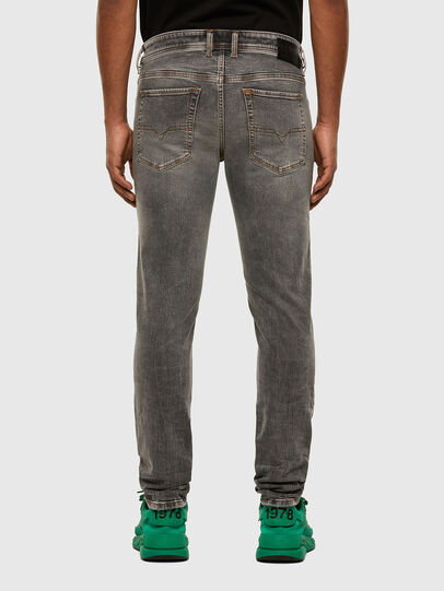 Diesel - Sleenker 009FW, Grigio Chiaro - Jeans - Image 2