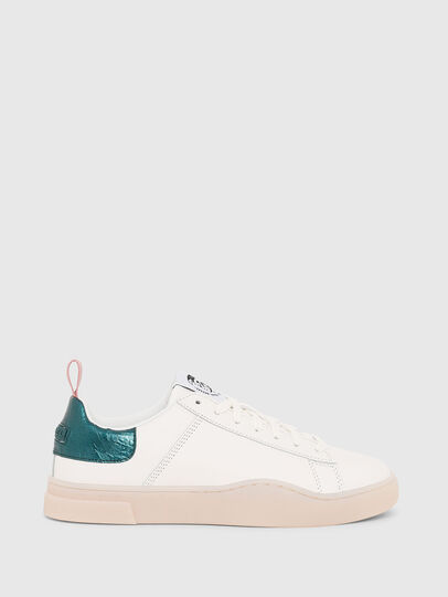 Diesel - S-CLEVER LOW LACE W, Bianco/Verde - Sneakers - Image 1