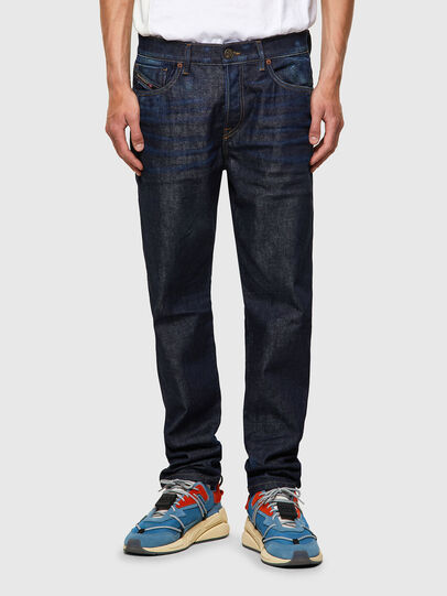 Diesel - D-Fining 09A20, Blu Scuro - Jeans - Image 1