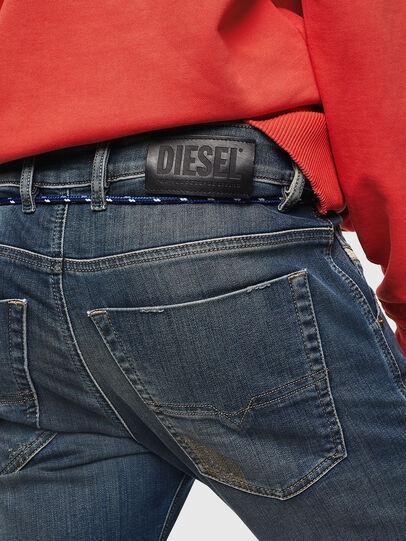 Diesel - Krooley JoggJeans 0870Z, Blu Scuro - Jeans - Image 4