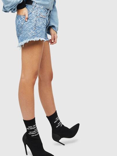 Diesel - DE-RIFTY, Blu Chiaro - Shorts - Image 5