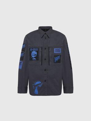 S-MARCUS, Grigio scuro - Camicie