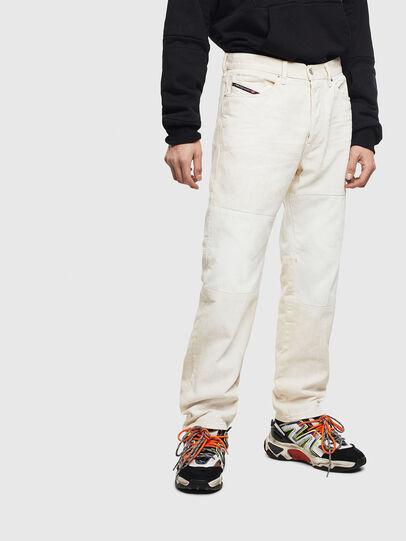 Diesel - D-Macs 009BA, Bianco - Jeans - Image 1