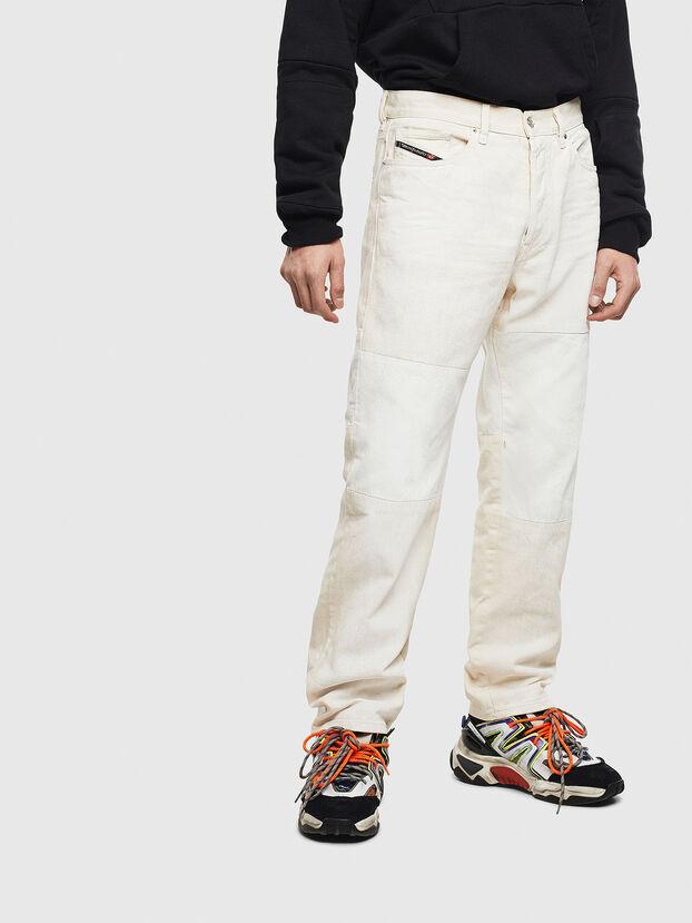 D-Macs 009BA, Bianco - Jeans