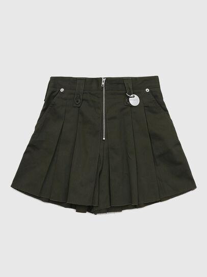Diesel - PEDEN, Verde Scuro - Shorts - Image 1
