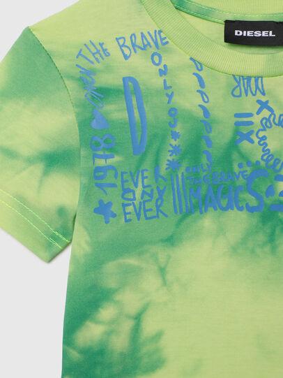 Diesel - TIMMYB-R, Verde - T-shirts e Tops - Image 3