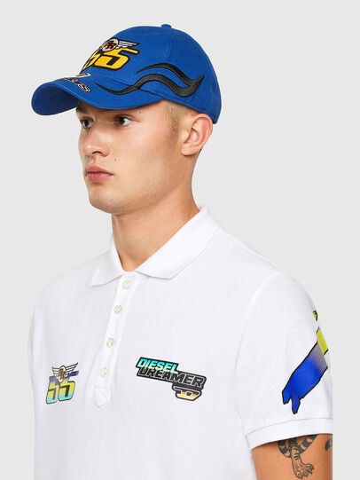 Diesel - ASTARS-CAP-B, Blu - Cappelli - Image 4