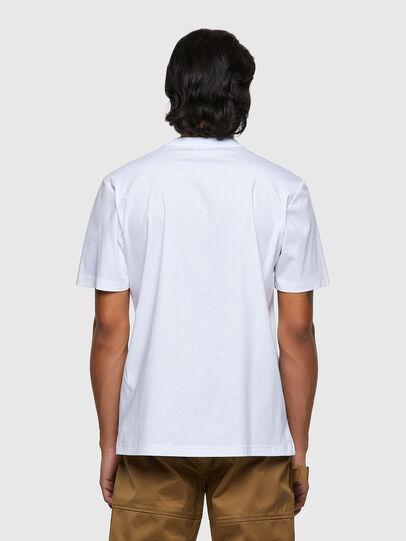 Diesel - T-JUSMER, Bianco - T-Shirts - Image 2