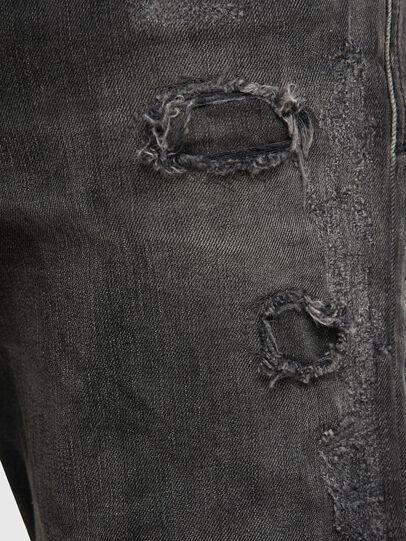 Diesel - D-Strukt 069RC, Nero/Grigio scuro - Jeans - Image 5