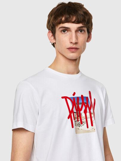 Diesel - T-DIEGOS-B9, Bianco - T-Shirts - Image 3