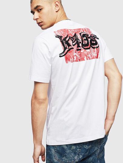 Diesel - T-JUST-T31, Bianco - T-Shirts - Image 2