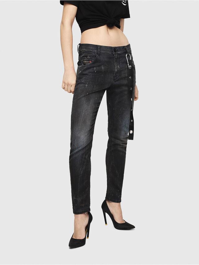Diesel - Krailey JoggJeans 069IA, Nero Jeans - Jeans - Image 1