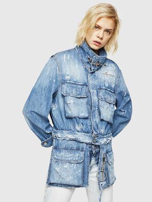 DE-MERYL, Blu Jeans - Giacche in denim