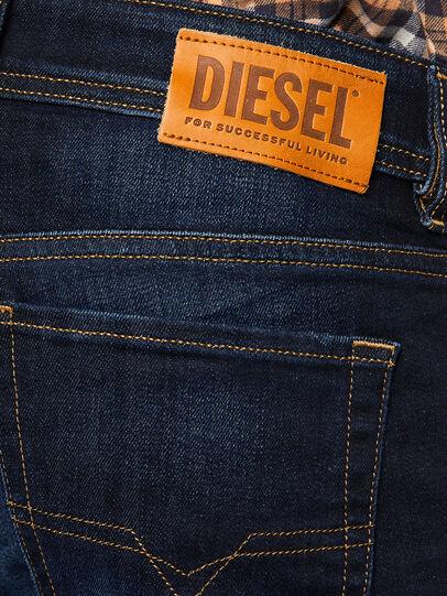 Diesel - Sleenker 009EY, Blu Scuro - Jeans - Image 5