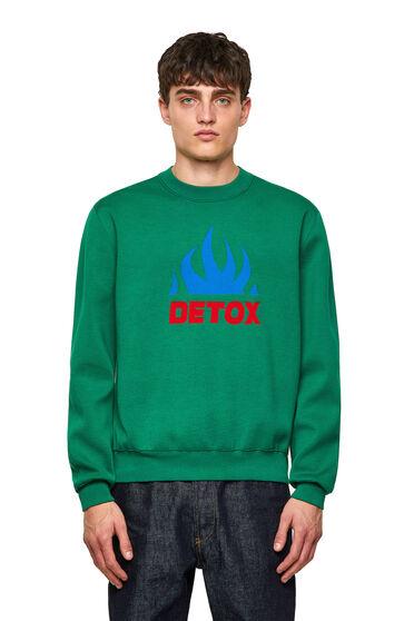 Pullover in fine maglia jacquard