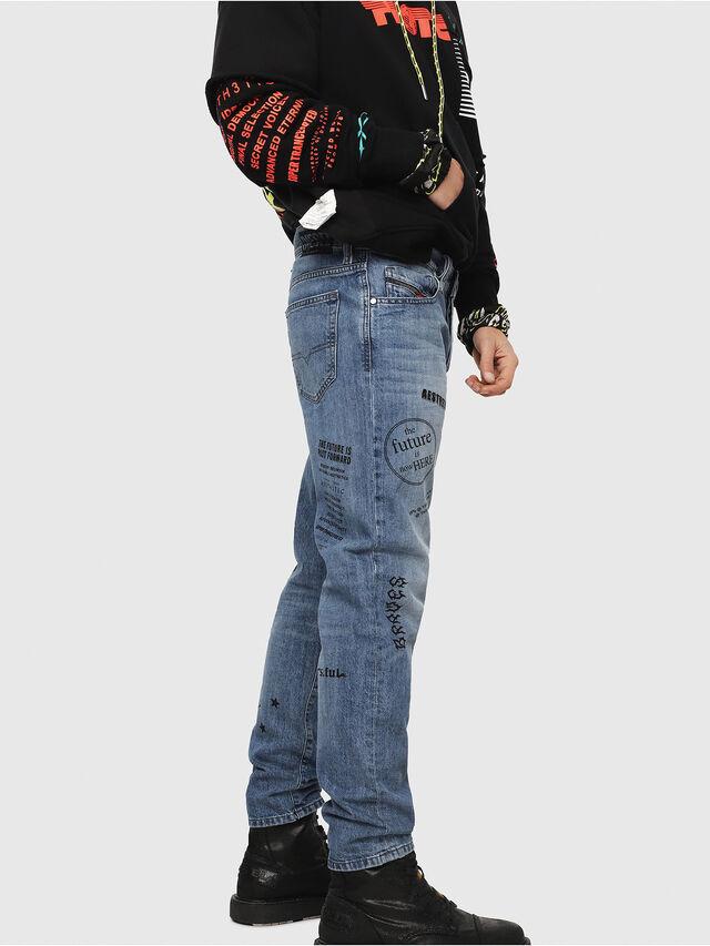 Diesel - Mharky 0094D, Blu medio - Jeans - Image 3