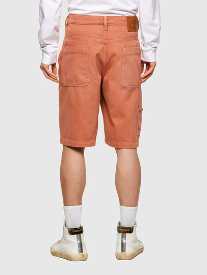 Diesel - D-FRANKY-SHORT-SP, Arancione - Shorts - Image 2